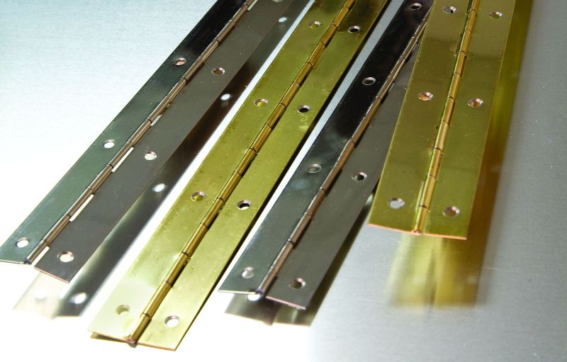 Piano Hinge Amp Bookcase Strip